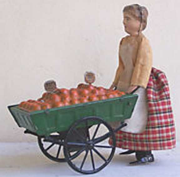 martin fernand 184 blech la petit marchande d'oranges uhrwerk