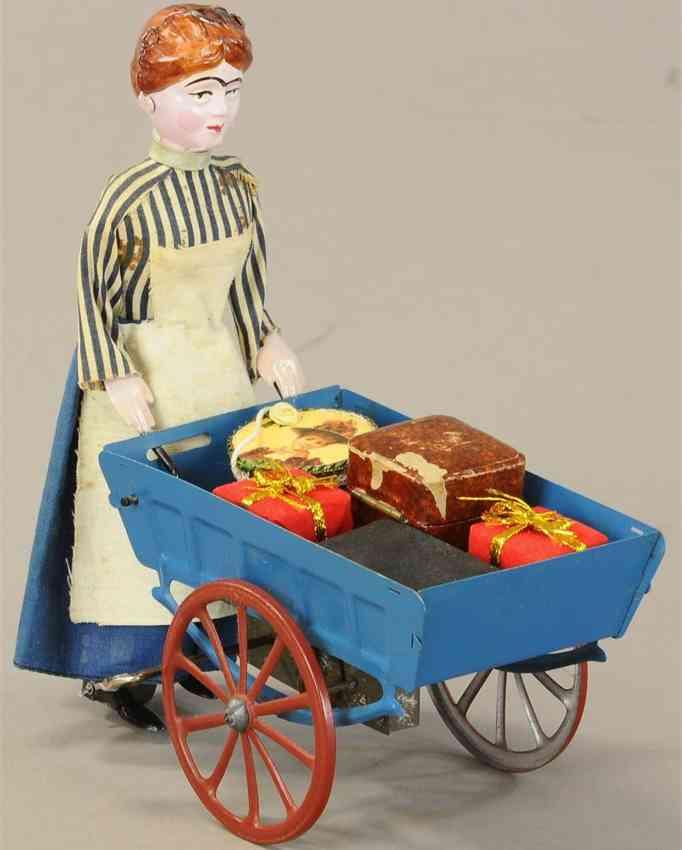 martin fernand 184 blech spielzeug la petit marchande d'oranges victor bonnet strassenhaendler