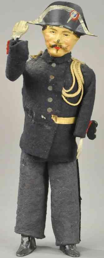 martin fernand 191 tin toy le gendarme police captain