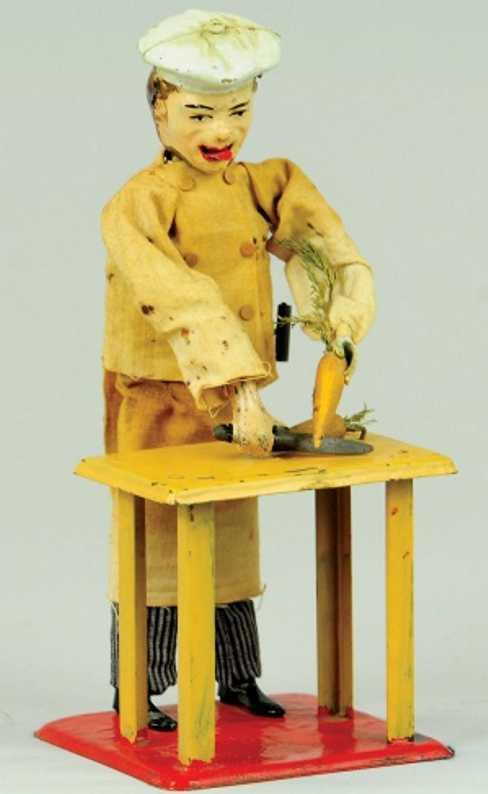 martin fernand 198 le petit cuisinier koch moehre uhrwerk
