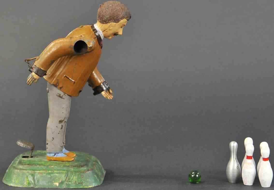 martin fernand 199  le joueur de boulekegelspieler