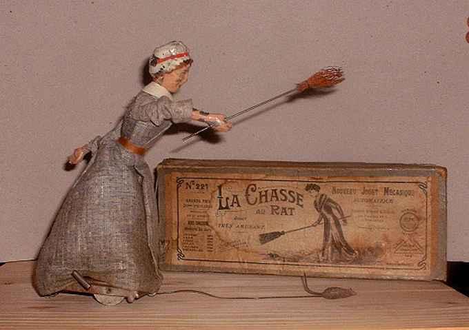 martin fernand 221 blech spielzeug la chasse au rat putzfrau
