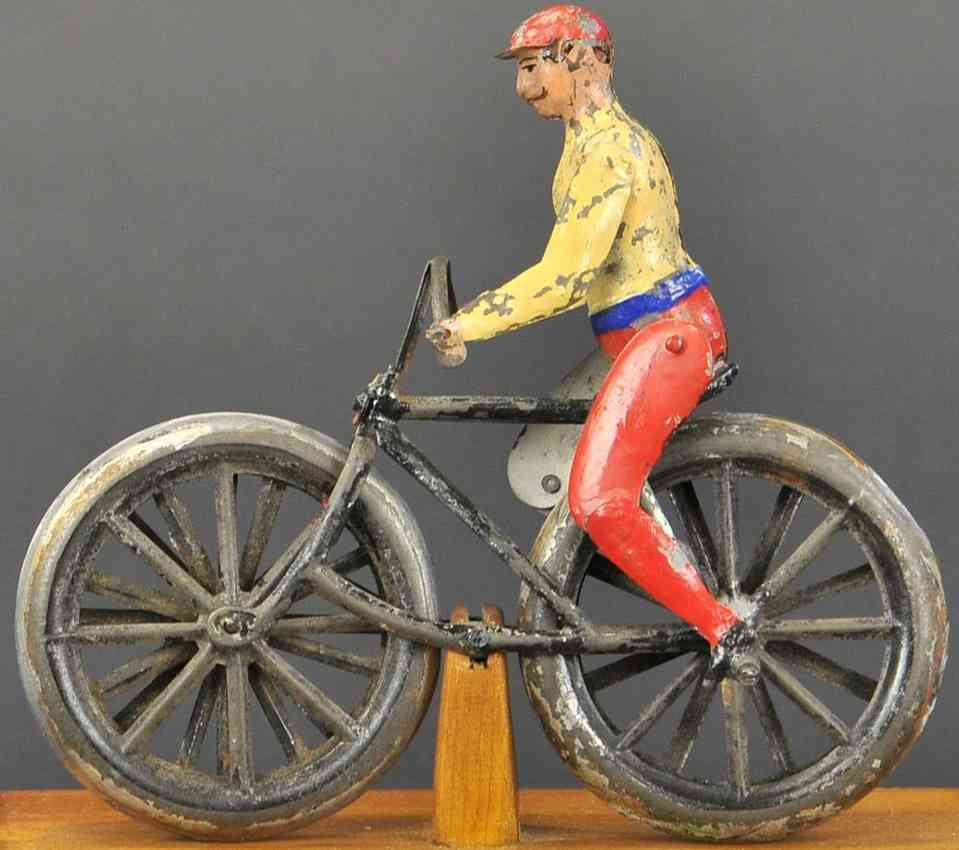 martin fernand blech spielzeug la bicyclette der champion radfahrer schwundgrad