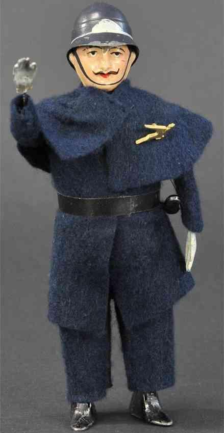 martin fernand 180 blech spielzeug englischer polizist the policeman