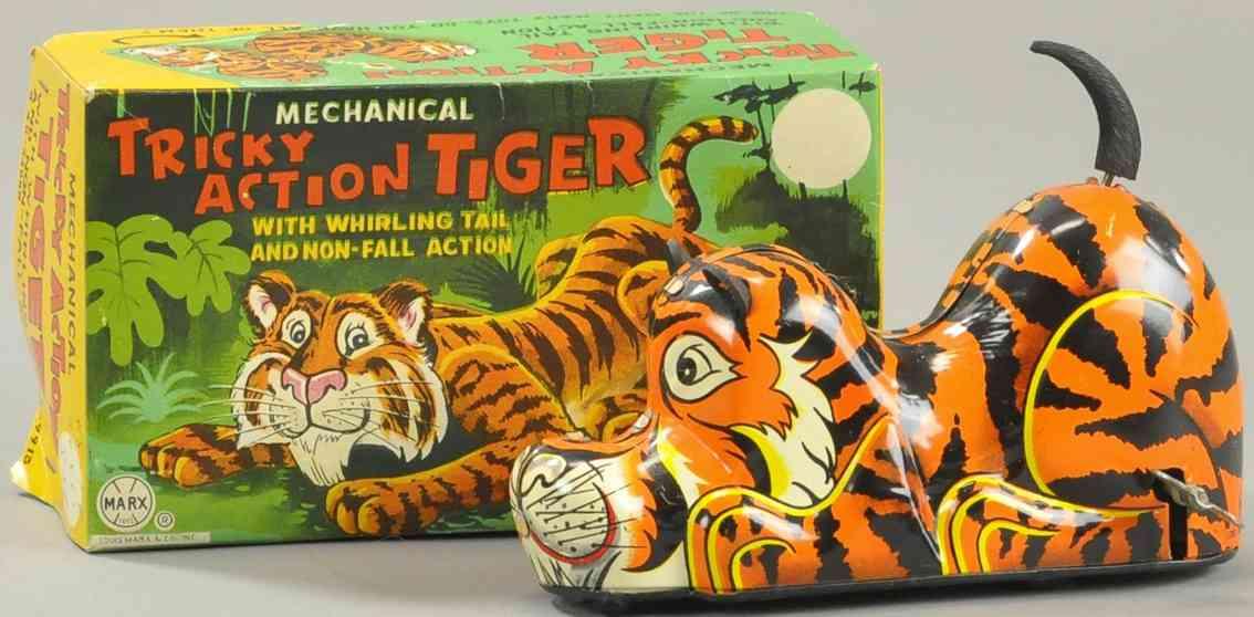 marx louis 48-34885 blech spielzeug tiger uhrwerk