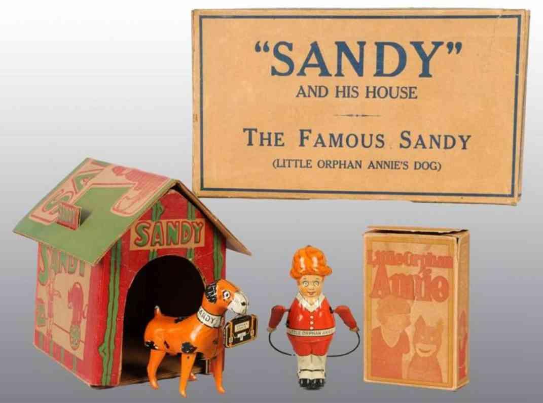 Marx Louis Die kleine Waise Annie und Sandy in Orginalverpackung, mit d