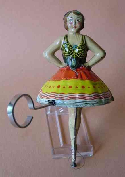 marx louis blech spielzeug ballerina mit zahnstangenantrieb
