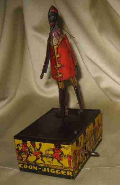 marx louis tin windup toy alabama african jigger