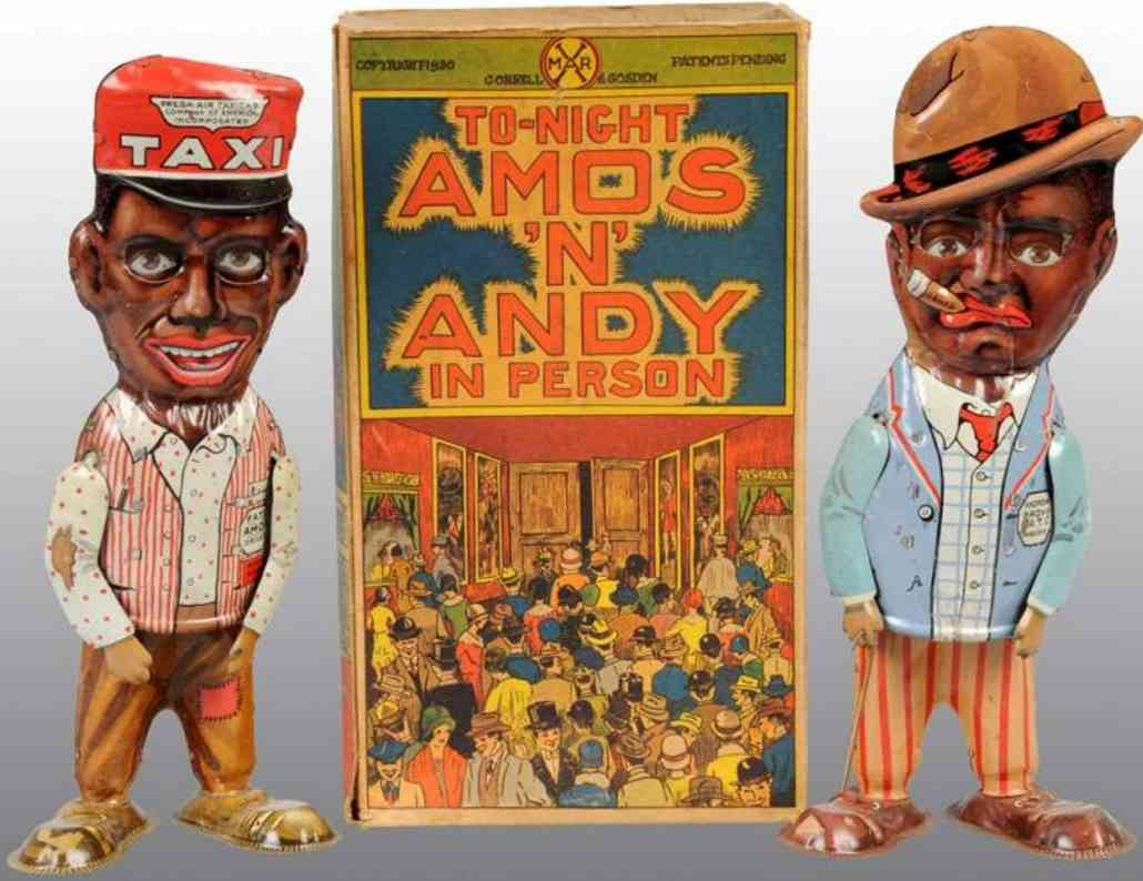 marx louis tin toy pair of amos andy walker
