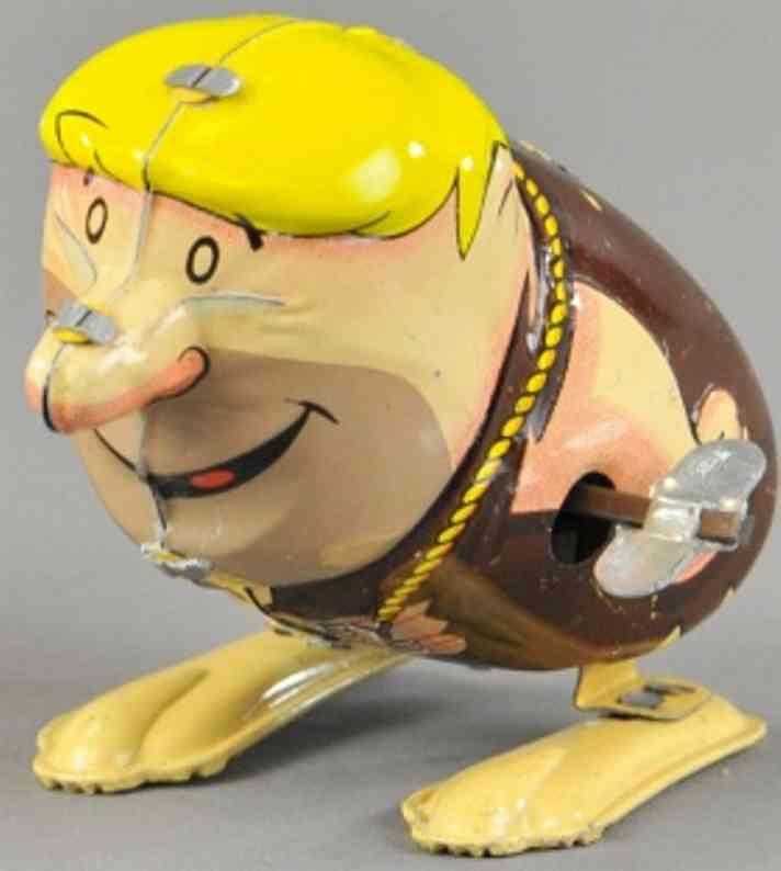 marx louis tin windup toy barney hopper toy