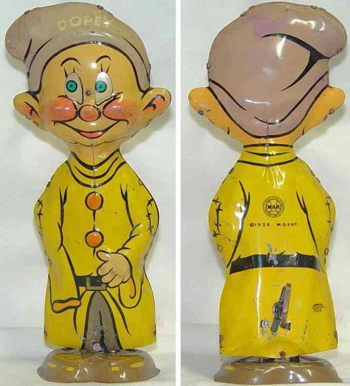 marx louis tin toy dopey waddler