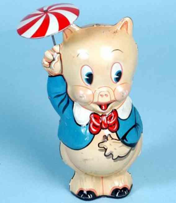 marx louis  blech spielzeug schweinchen dick