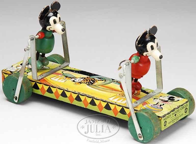 nifty manufacturing company blech micky maus zirkusspielzeug