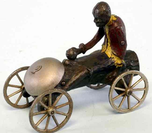 n.n. hill brass co spielzeug gusseisen affe kokosnuss glocke