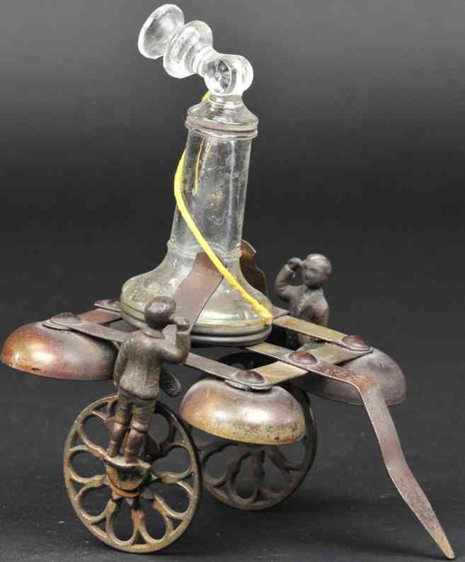 n.n. hill brass co spielzeug gusseisen telefon plattform vier glocken