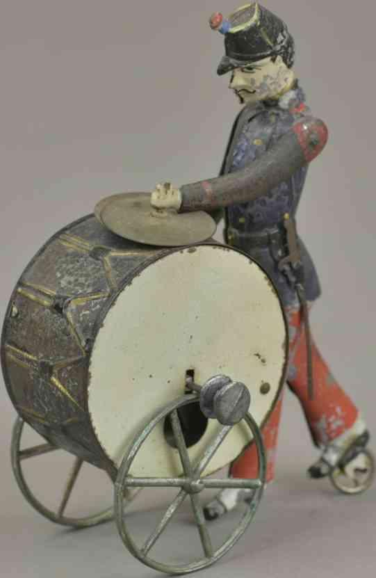 rossignol blech spielzeug soldat mit trommel