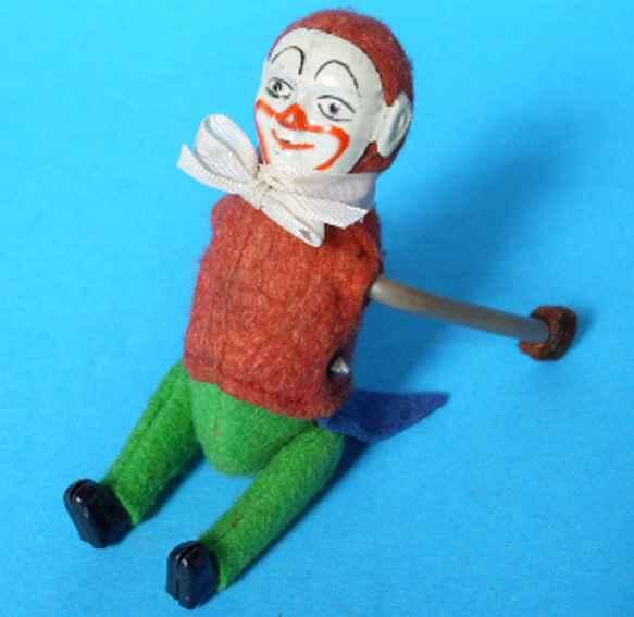 Schuco 874  Clown as a tumbling-figure
