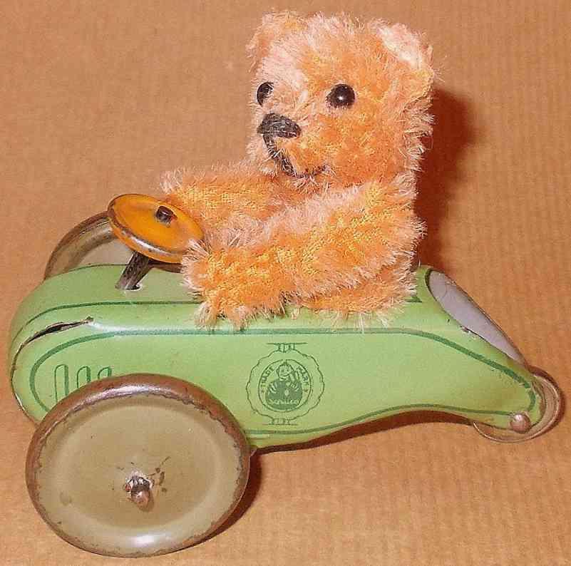 Schuco 891  Flywheel-roller with bear