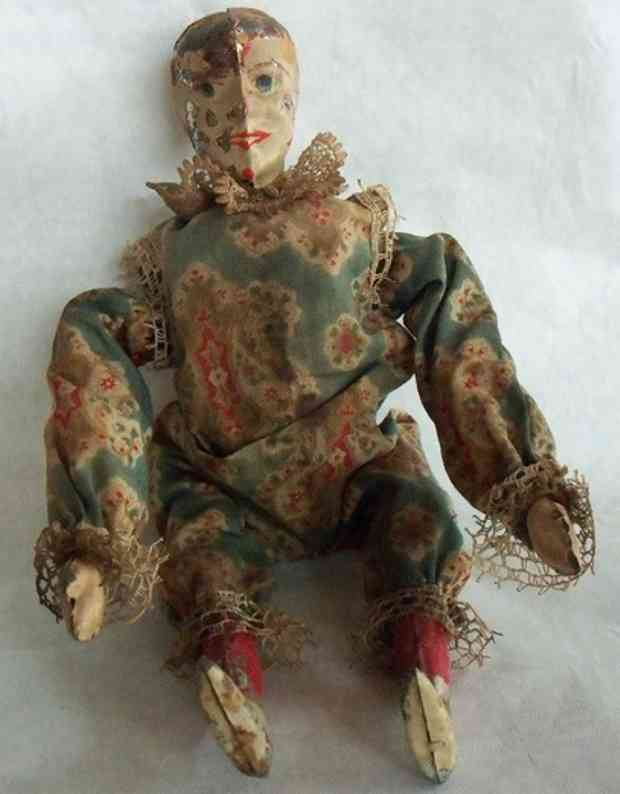 staudt leonhard tin toy clown