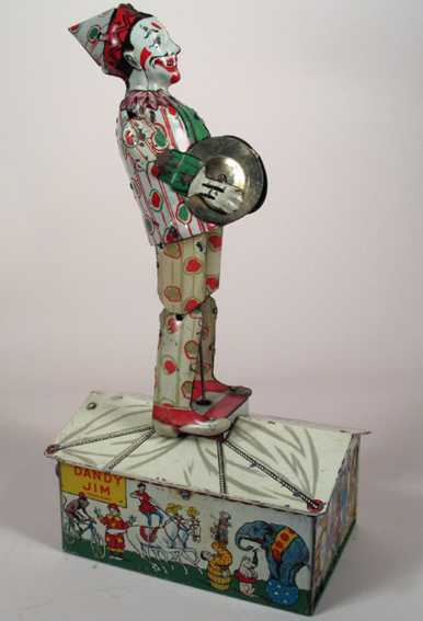 Strauss Dandy Jim Clown dancer jigger