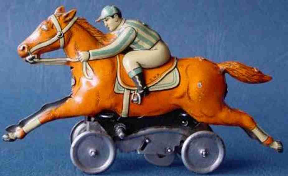 Technofix 151 Reiter mit Rennpferd