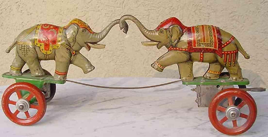 technofix 196 blech spielzeug elefantenkampf