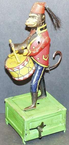 Monkey Playing Soldier Playing Drum