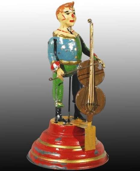Clown mit Cello