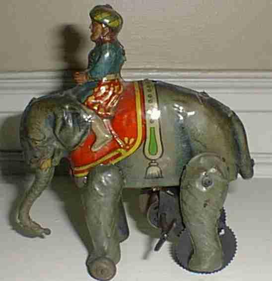 Arab Shiek riding elephant