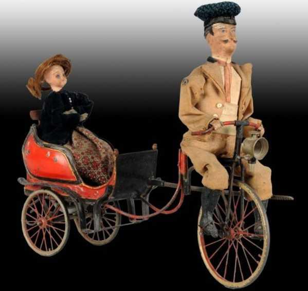 Flywheel bicycle