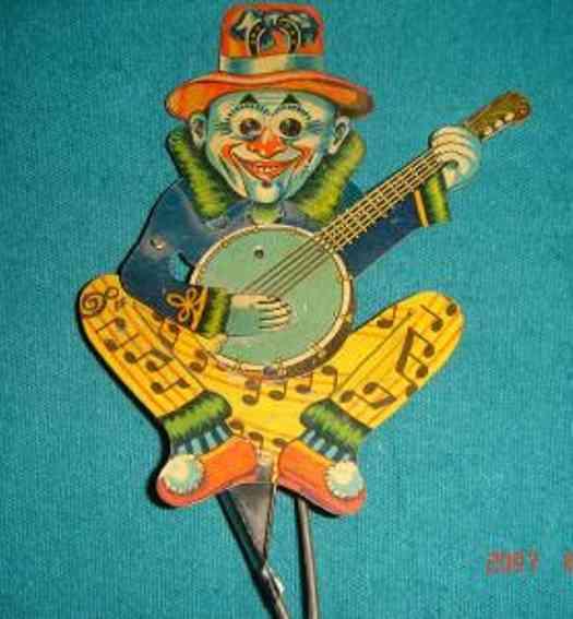 Banjospielerfigur