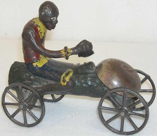 Watrous Mfg. Co. Affe auf einem Glockenspielzeug