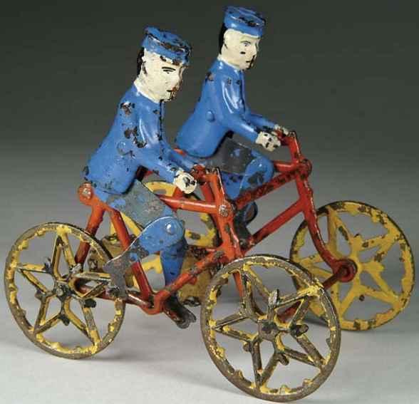 Wilkins Bicycle riders
