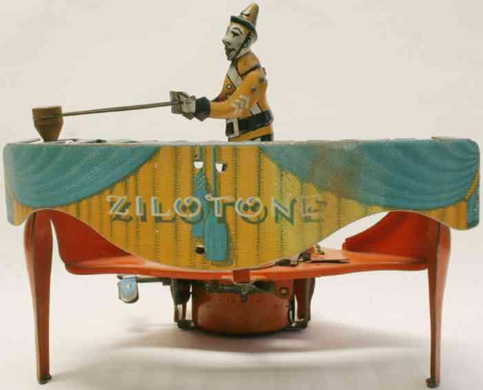 wolverine 48 blech spielzeug zilotone mit spieler xylophone