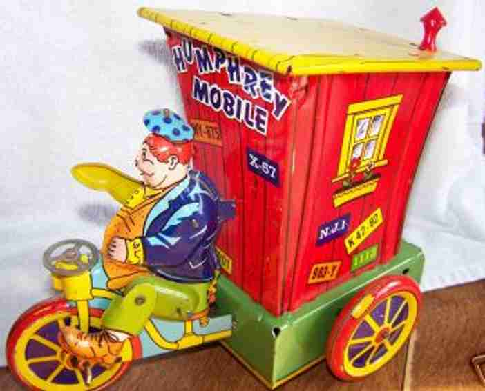 wyandotte 875 tin toy humphrey mobile