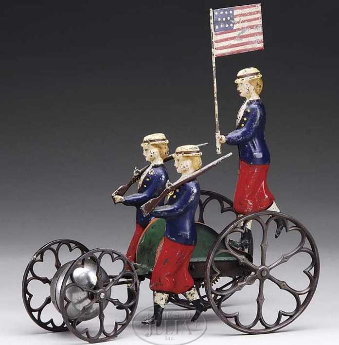 althof bergmann 522/1 patriotische glockenspielzeug als paradespielzeug