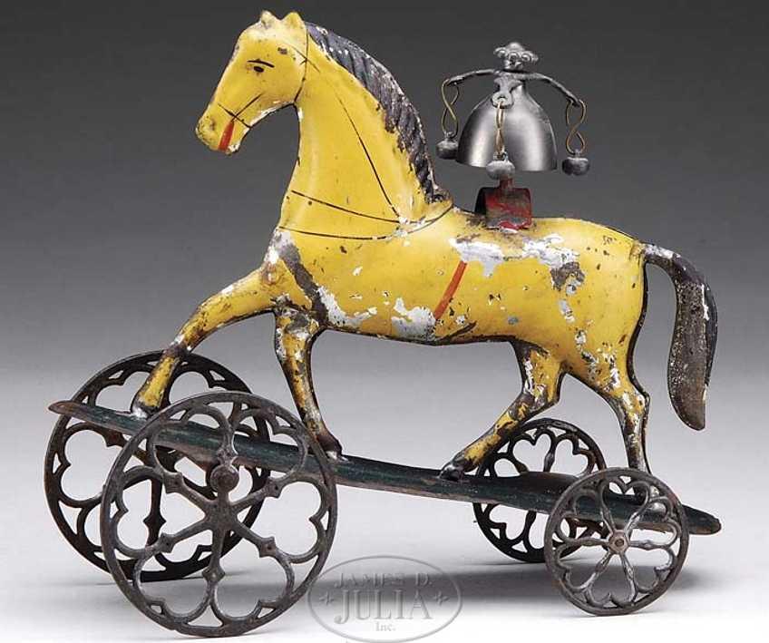 Althof Bergmann Pferd als Glockenspielzeug