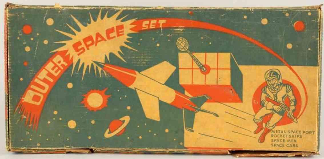 Archer Plastics Archer Outer Space play set