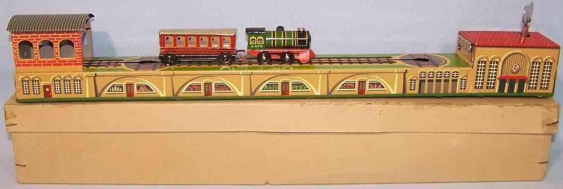 arnold 570/6 blech spielzeug wendebahn lokomotive anhaenger