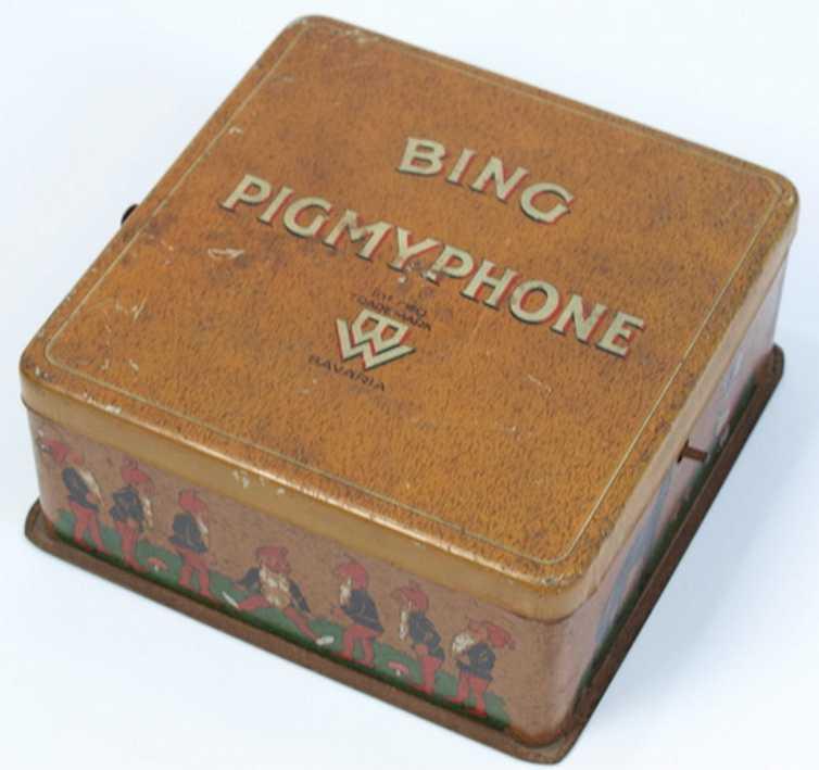 Bing Pigmyphone Grammophone