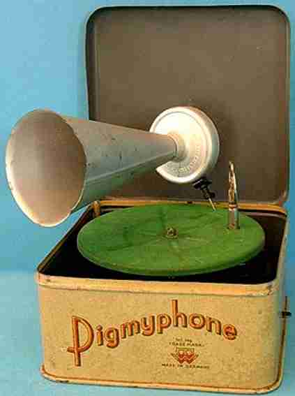 Bing Grammophone Pigmyphone