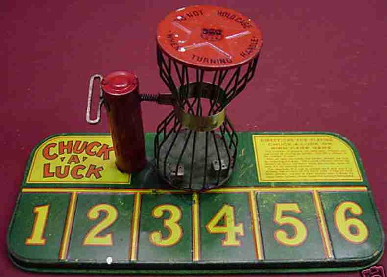 Chein Co. 176 Glücksspiel Plättchenspiel