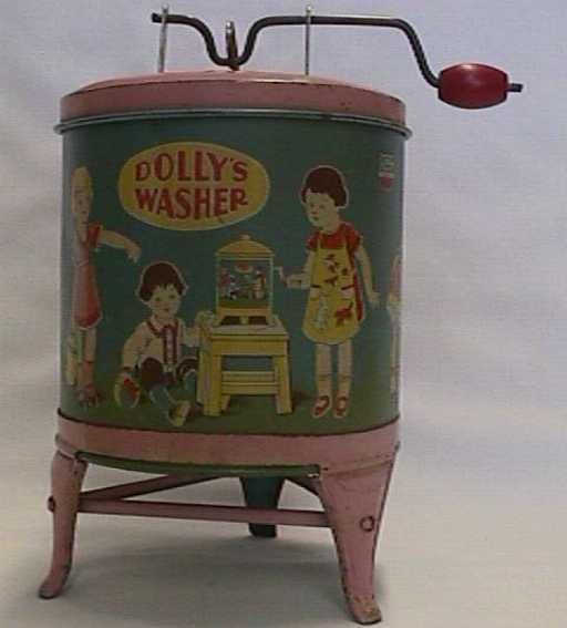chein co 62 tin toy washer tin toy washing machine