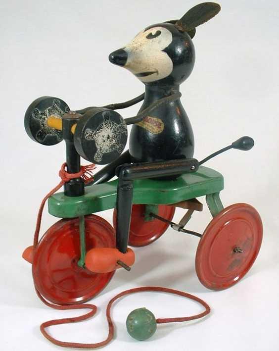 Chein Co Ignatz als Maus auf Dreirad