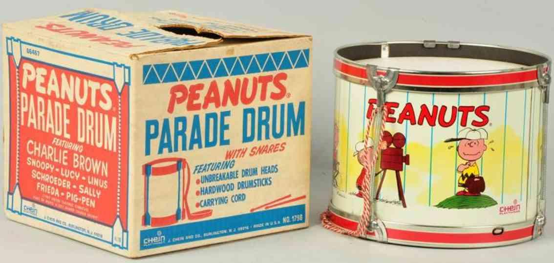 Chein Co Peanuts Parade Trommel