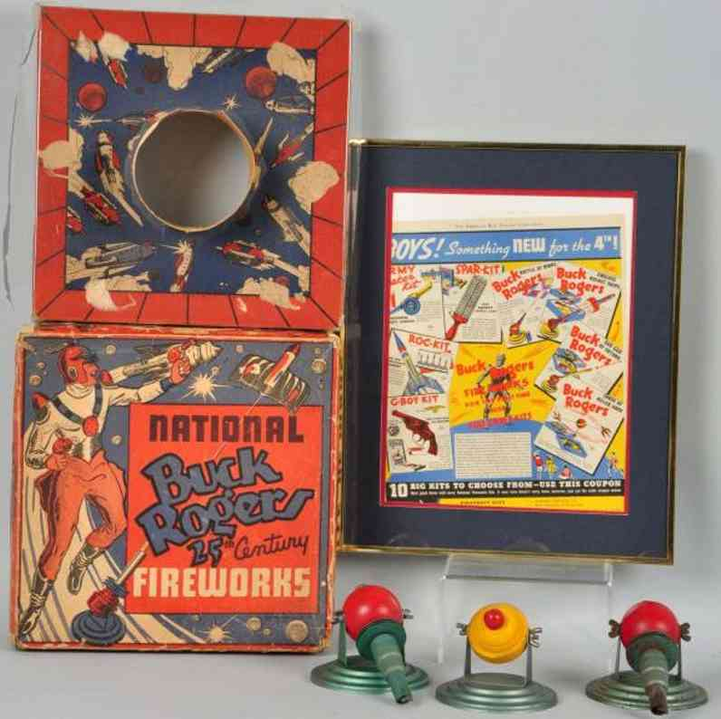 National Fireworks Company Buck Rogers display set