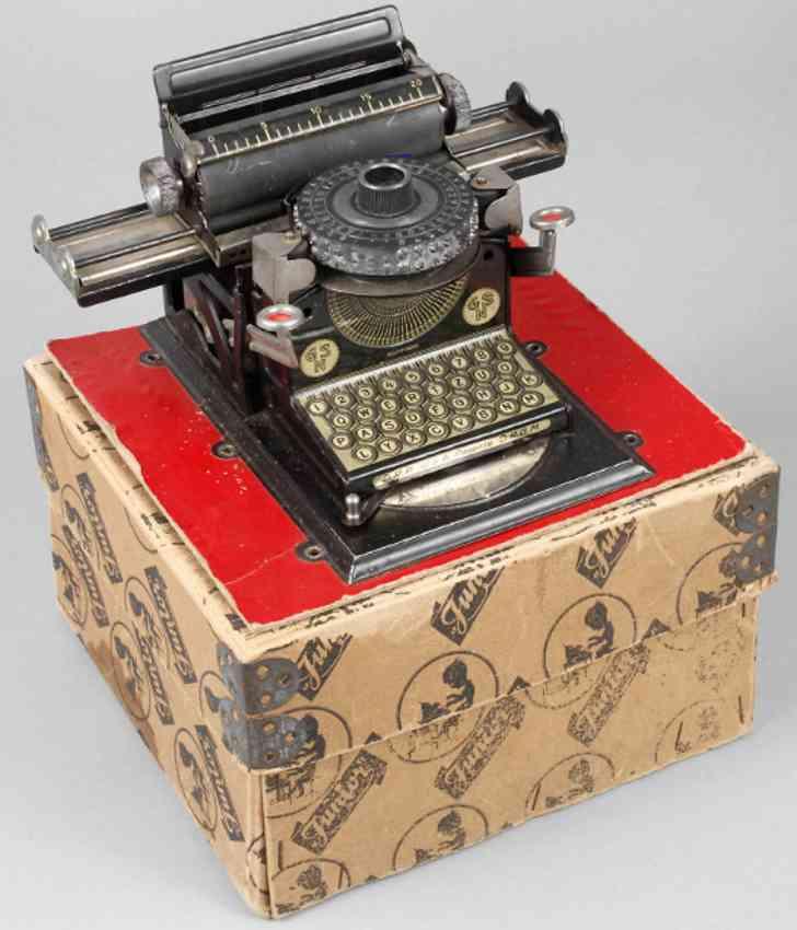 gescha blech spielzeug kinder-schreibmaschine junior gsn