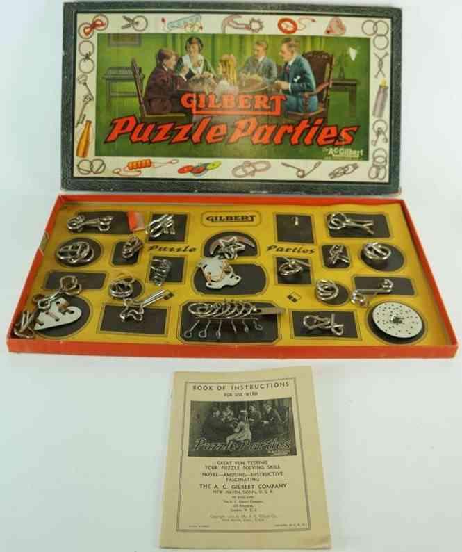 Gilbert 1032 Puzzle Party aus Stahl
