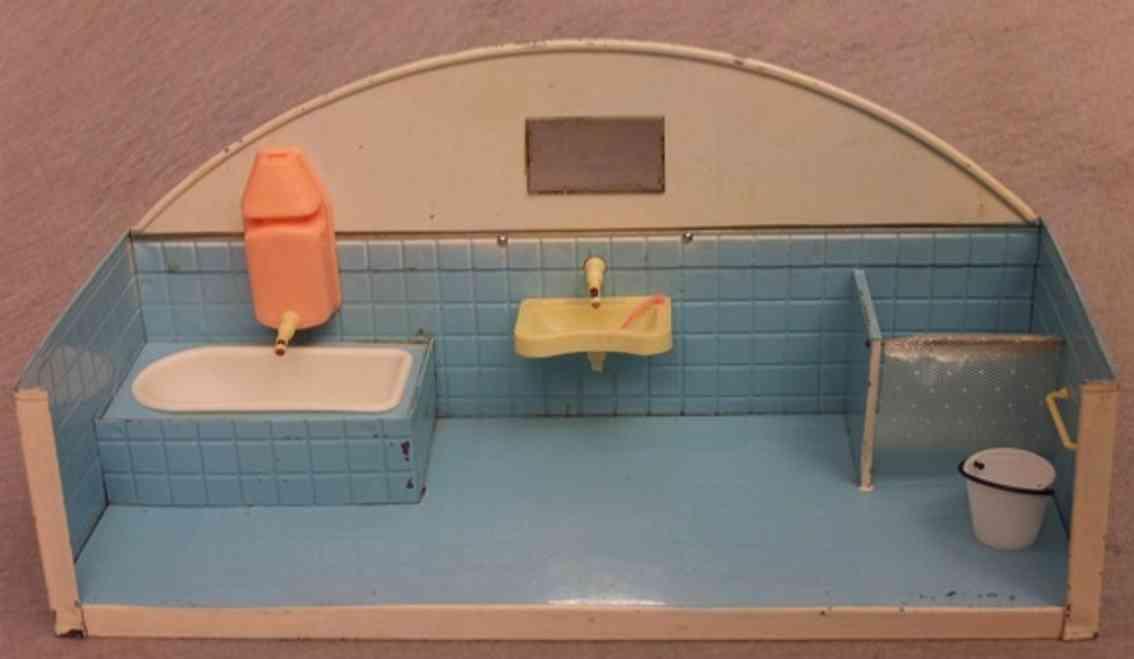 goeso blech spielzeug badezimmer mit blechgehäuse und innenausstattung aus kunstst