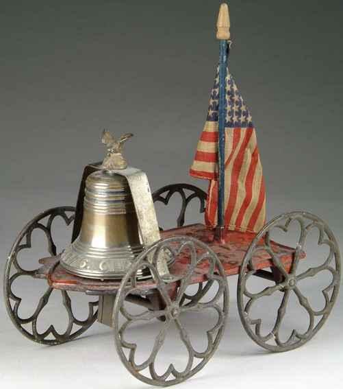 gong bell spielzeug gusseisen hundertjähriges glockenspielzeug